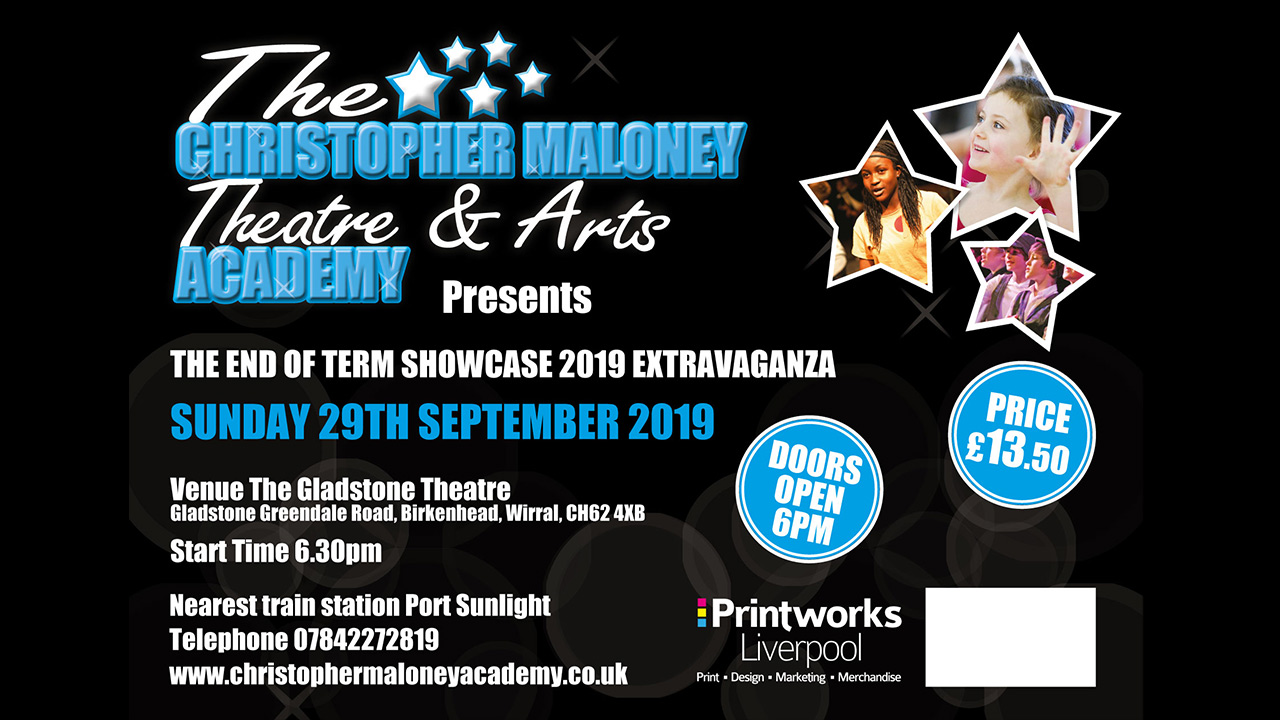 The Christopher Maloney Theatre & Arts Academy – End of Term Showcase