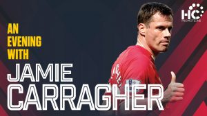 An Evening With Jamie Carragher - NEW DATE