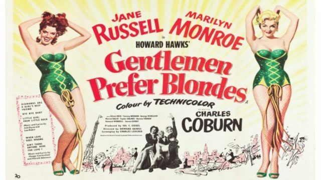 Gentlemen Prefer Blondes - Gladstone Cinema Club