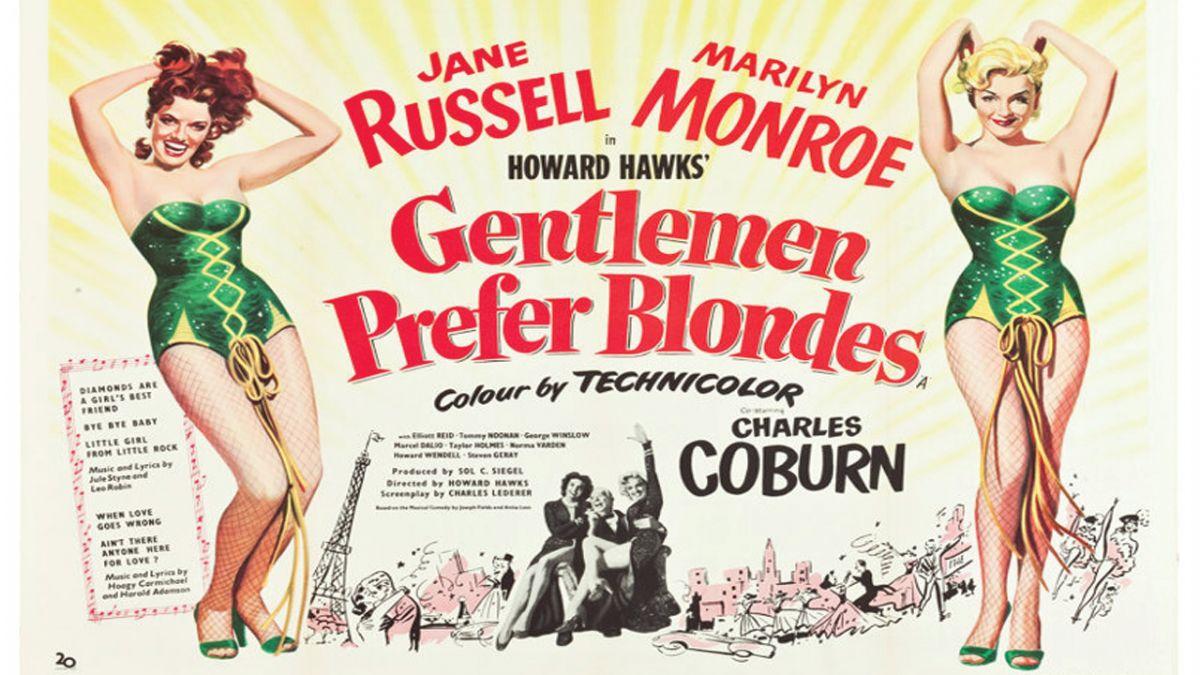 Gentlemen Prefer Blondes - Gladstone Cinema Club