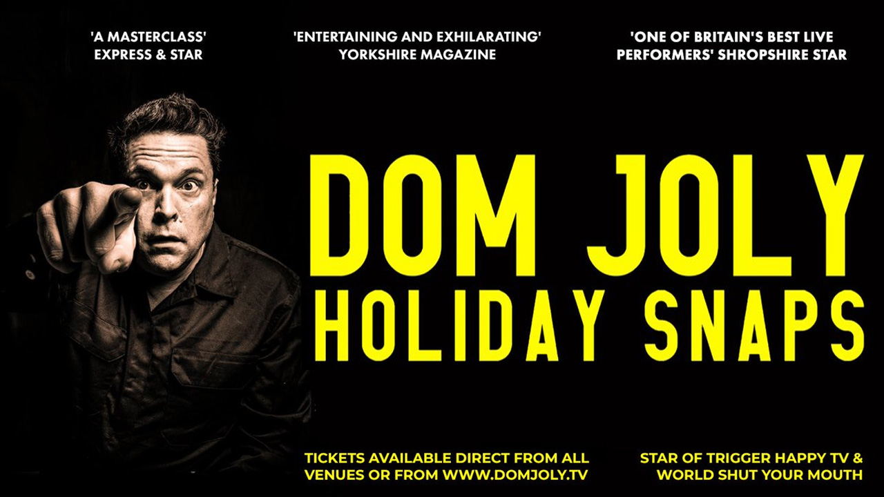 Dom Joly's Holiday Snaps – Travel and Comedy in the Danger Zone